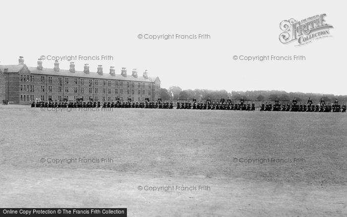 Photo of York, Infantry Barracks 1886