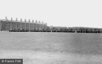 York, Infantry Barracks 1886