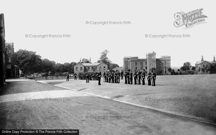 Photo of York, Infantry Barracks, Armoury 1886