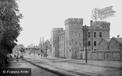 Infantry Barracks, The Armoury 1886, York