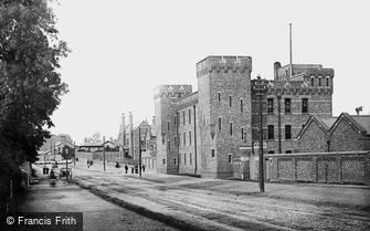 York, Infantry Barracks, the Armoury 1886
