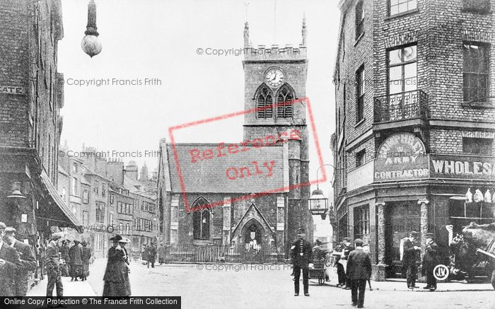 Photo of York, Kings' Square And Holy Trinity Church c.1905