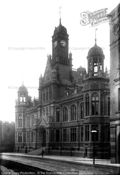 Photo of York, Law Courts 1893