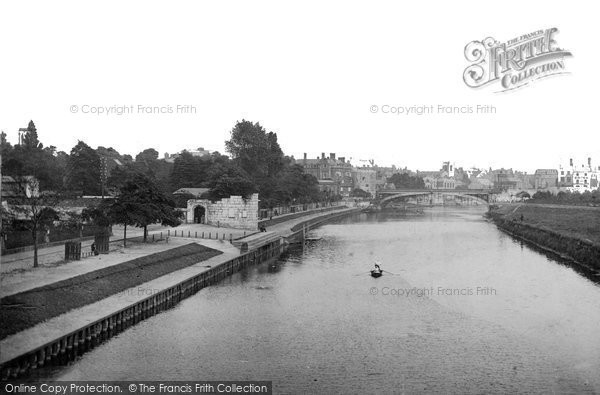 Photo of York, Lendal Bridge  1885