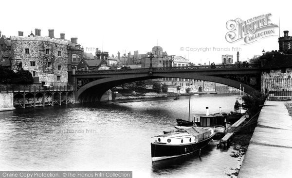 Photo of York, Lendal Bridge 1909, ref. 61702