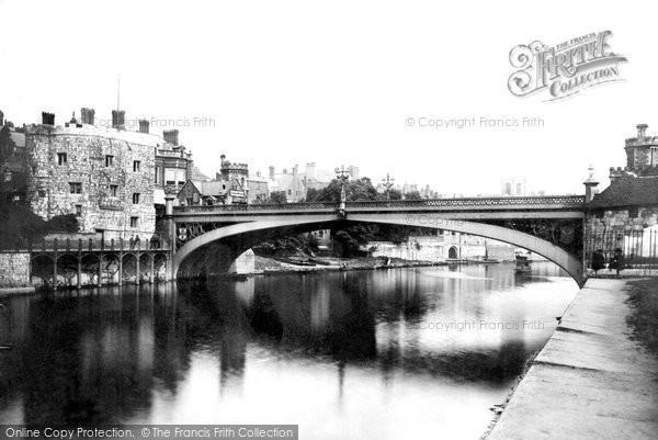 Photo of York, Lendal Bridge c.1885