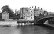 York, Lendal Tower and Bridge 1885