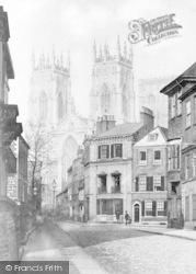 York, Little Blake Street c.1860