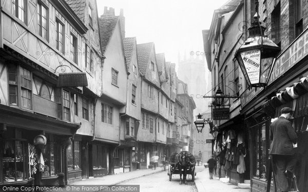 Photo of York, Low Petergate 1892