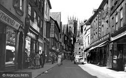 York, Low Petergate 1949