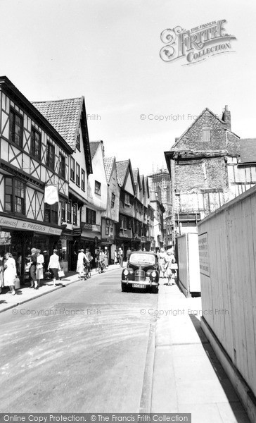 Photo of York, Low Petergate c.1955