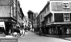York, Low Petergate c.1960