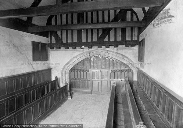 Photo of York, Merchant's Hall, The Chapel 1921