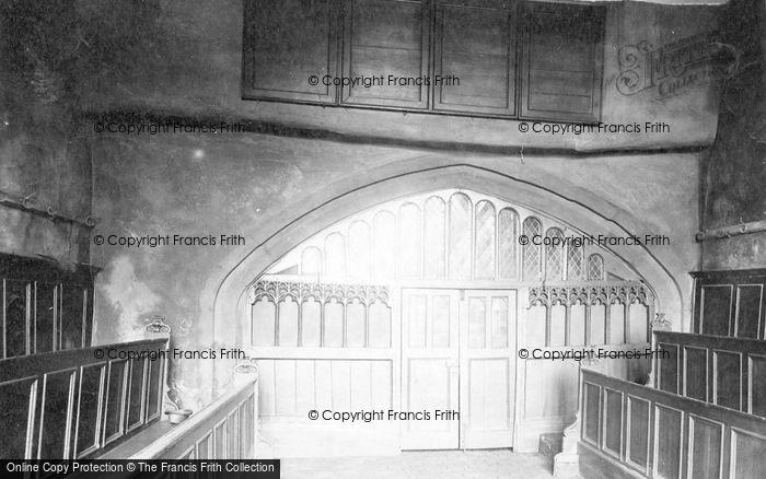 Photo of York, Merchants Hall, Interior 1893