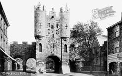 York, Micklegate Bar 1886