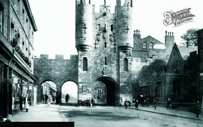 Photo of York, Micklegate Bar 1907