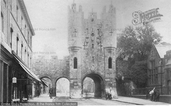 Photo of York, Micklegate Bar c.1880
