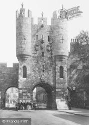 York, Micklegate Bar c.1885