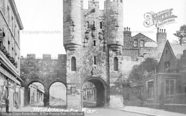 Photo of York, Micklegate Bar c.1907