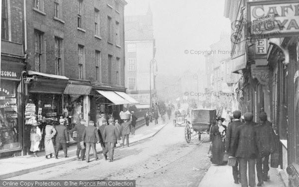 Photo of York, Micklegate c.1910