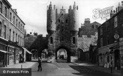 York, Micklegate c.1960