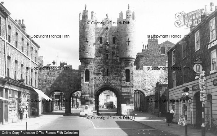 Photo of York, Micklegate c.1960