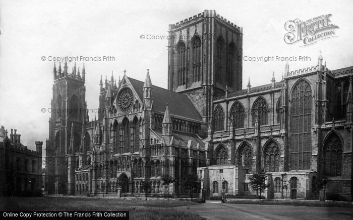 Photo of York, Minster 1891