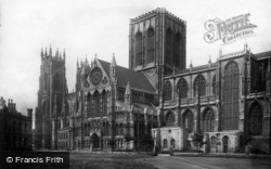 York, Minster 1891