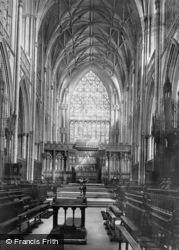 Minster 1891, York