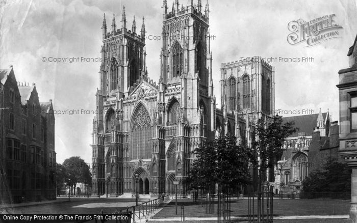 Photo of York, Minster 1897