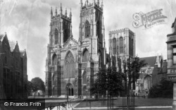 York, Minster 1897
