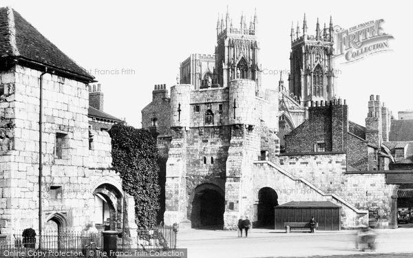Photo of York, Minster And Bootham Bar 1925
