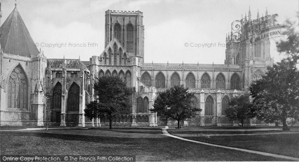 Photo of York, Minster c.1870