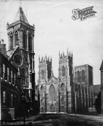 York, Minster c.1873