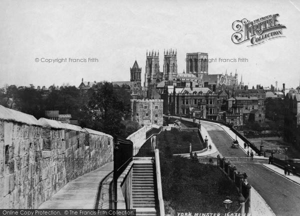 Photo of York, Minster c.1880