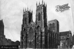 York, Minster c.1885