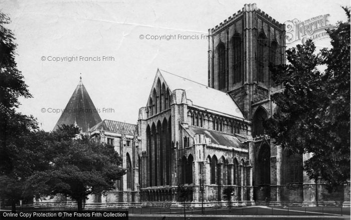 Photo of York, Minster c.1885