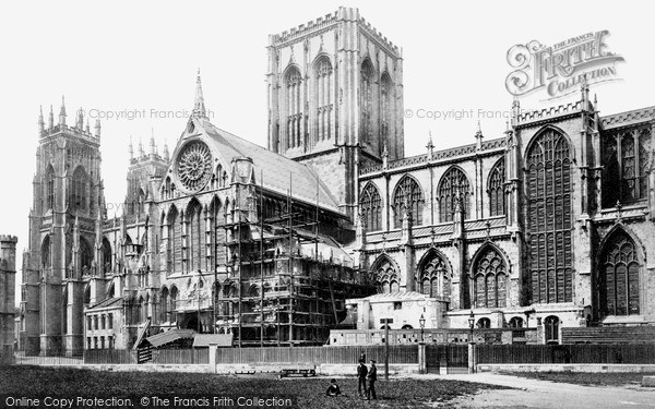 Photo of York, Minster c1890, ref. Y12501