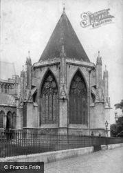 Minster, Chapter House 1891, York