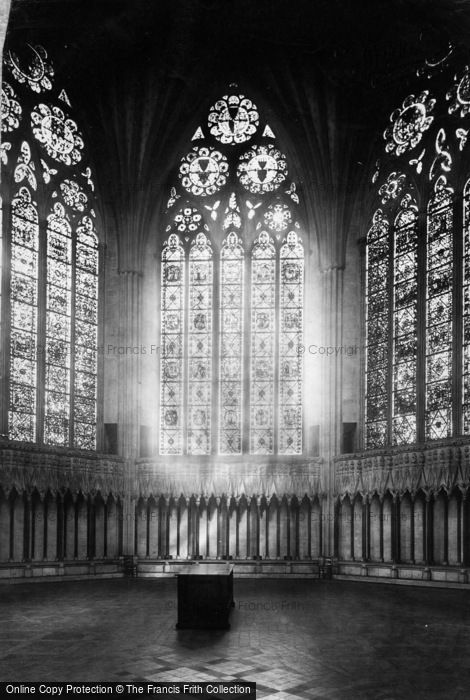 Photo of York, Minster, Chapter House c.1885