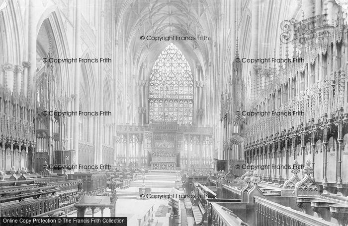 Photo of York, Minster, Choir East 1893