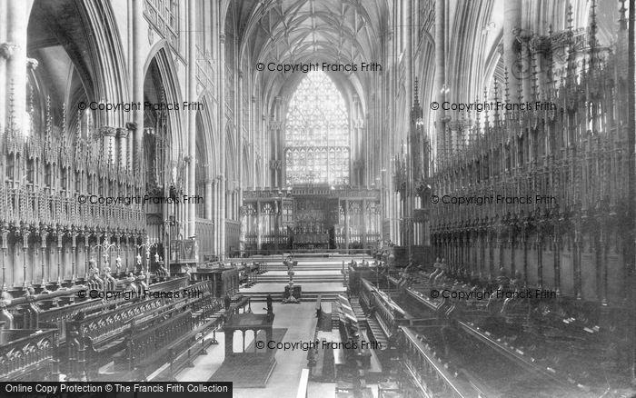 Photo of York, Minster, Choir East 1911