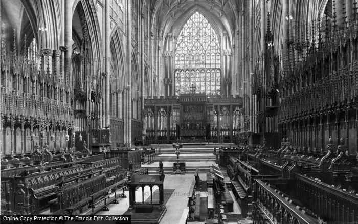 Photo of York, Minster, Choir East 1913