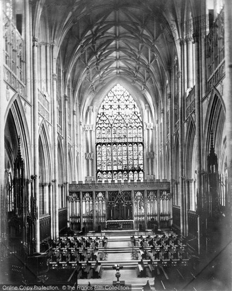 Photo of York, Minster Choir East c.1866