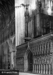 York, Minster, Choir Screen c.1885