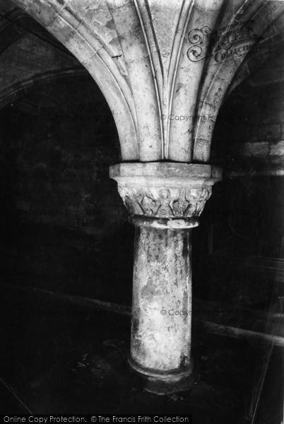 Photo of York, Minster, Crypt 1909