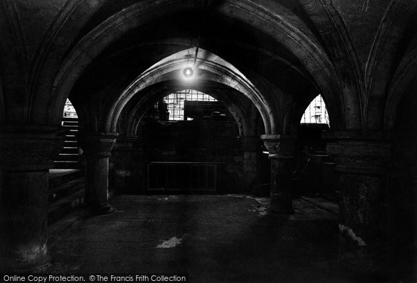 Photo of York, Minster Crypt 1911