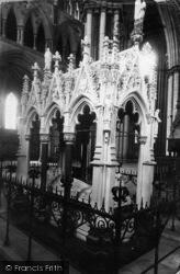 York, Minster, Dean Duncombe's Monument c.1885