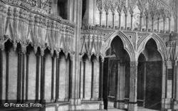 Minster, Door Of Chapter House c.1885, York