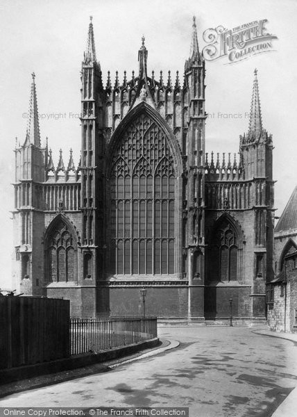 Photo of York, Minster East End 1908